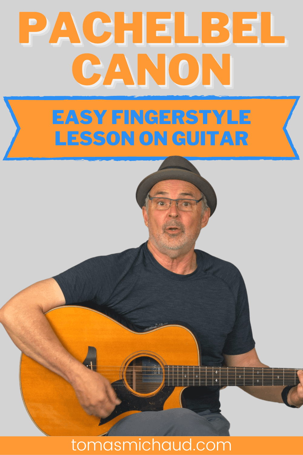 PACHELBEL CANON EASY FINGERSTYLE LESSON ON GUITAR
